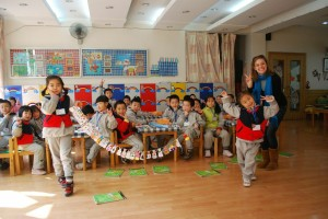 Chinese English Classroom Elementary