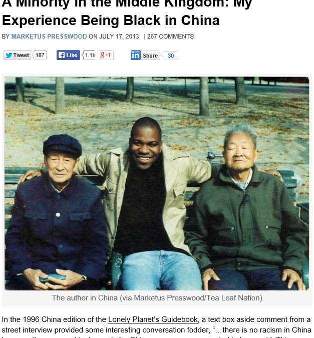 African Americans Teaching in China